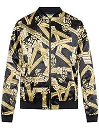 10c7121cce0 Amazon.fr   Versace - Manteaux et blousons   Homme   Vêtements