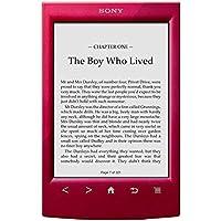 Sony PRST2HRC - Lector de e-book, Wifi, color rojo