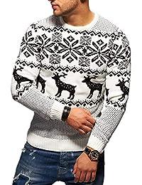 cf1aefec0551 Rello   Reese Herren Strickpullover Norweger Pullover Sweatshirt RS-1048