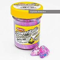 Berkley Trout Bait Garlic Glitter Captian America