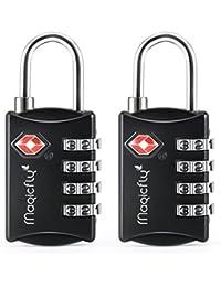 Magicfly - Cadenas à codes Cadenas à bagage TSA Cadenas à combinaison à 3 chiffres