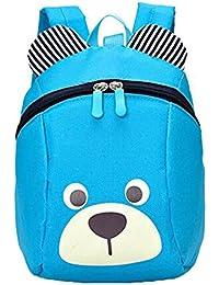 Preisvergleich für Brinny Kinderrucksack Anti verloren Kinder Rucksack Mini Bär Schule Tasche für Baby Jungen Mädchen Kleinkinder...