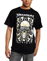 Fea Merchandising Men's Megadeth Red Bones Tee
