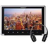 Yunshangauto® Auto Kopfstütze DVD-Player,10.1-Zoll-HD 1080P Kopfstützenmonitor Touch Taste mit HDMI-Anschluss und Fernbedienung Unterstützt CPRM
