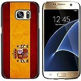 Graphic4You España bandera española Carcasa Funda Rigida para Samsung Galaxy S7