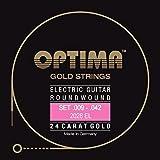 Cuerdas para guitarra eléctrica,09-42,GoldStrings Extra Light 2028EL