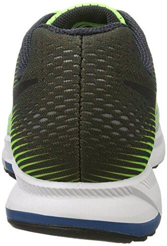 Nike Herren Air Zoom Pegasus 33 Laufschuhe Mehrfarbig (Ghost Green/black/pure Platinum)