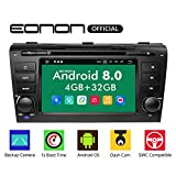 eonon Android 8 fit Mazda 3 2004 2005 2006 2007 2008 2009 2Din 17,8 cm 7' LCD Indash Car Audio Video Stereo Autoradio Touchscreen DVD GPS Bluetooth FM AM RDS USB SD support DAB+ OBD2 WiFi GA9151B