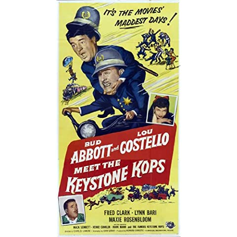 Abbott and Costello Meet the Keystone Kops Poster (20 x 40 Inches - 51cm x 102cm) (1955)