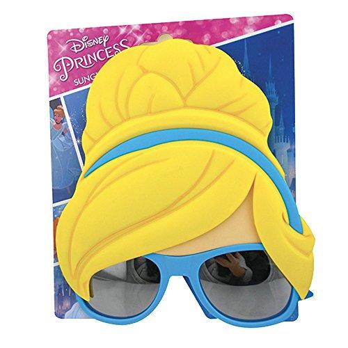 Rocco Spielzeug mv19541-Cinderella-Sonnenbrille, Farbe Blau, One Size
