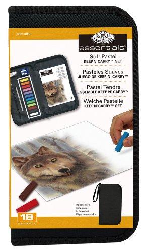 Royal Langnickel RSET-KCSP - Soft Pastellkreiden Set, farblich sortiert, 12-teilig Preisvergleich