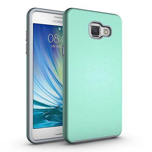 Slynmax Coque Samsung Galaxy A5 2016 Vert, Housse TPU Slim Bumper Souple Silicone Etui Housse de Soft Case Cas Couverture Anti Choc Ultra Mince Légère Coque pour Samsung Galaxy A5 2016