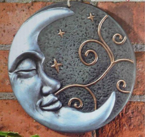 beautiful-silver-moon-terracotta-wall-plaque-garden-art-ornament
