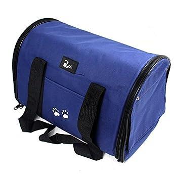 Generic Tissu Oxford Pet Sac de transport pliable pour chien chat Sac Pet Voyage Transporteur Idéal pour chiot, chat, lapin et autres petits animaux