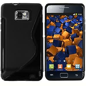 mumbi TPU Schutzhülle für Samsung Galaxy S II Plus Hülle schwarz