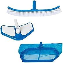 Intex Kit de nettoyage Deluxe Bleu 33 x 10,8 x 50,8 cm  29057