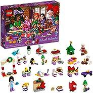 LEGO 41420 Friends Advent Calendar 2020 Christmas Mini Builds Set with Emma, Elves & Santa Work