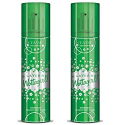 Layerr Wottagirl Classic Ever Green Body Spray 135ml ( Pack of 2)