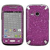atFolix Samsung Galaxy Young (GT-S6310) Skin FX-Glitter-Rich-Lilac Designfolie Sticker - Reflektierende Glitzerfolie
