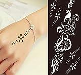 TATTOO Schablone Henna Design zur einmaligen Verwendung S235 für Körper