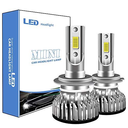 Lampadine H7 LED 6000K Xenon Bianco Estremamente Luminosi COB Chips Anabbaglianti Abbaglianti Fari LED Auto Kit Conversione Impermeab