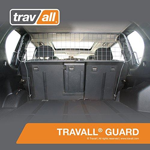 Travall® Guard Hundegitter TDG1141 - Maßgeschneidertes Trenngitter in Original Qualität (Nissan Xtrail 2002 Zubehör)