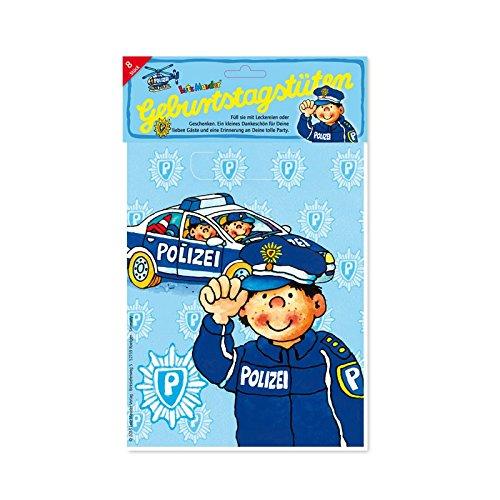 Supplies Party Polizei (Lutz Mauder Verlag LUTZ mauder10118Polizei Taschen-Beute)