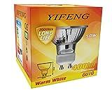 x10 YiFeng 50 Watt Dimmable GU10 Halogen 220-240v Light Bulbs (pack of 10) Bild