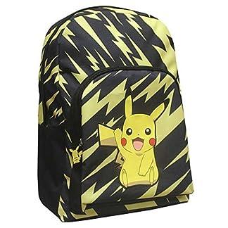 51Y AALt2yL. SS324  - Pokemon Pikachu mochila color negro y amarillo