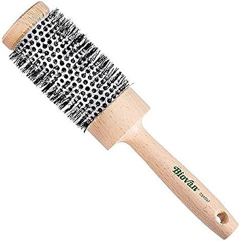 biovan Phon Spazzola per capelli rotonda con rivestimento in ceramica–Ø 55/40mm, per capelli lunghi