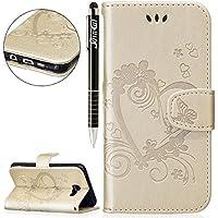Galaxy A5 2016 Hülle,Galaxy A5 2016 Leder Brieftasche Hülle im BookStyle,SainCat PU Leder Wallet Case Lederhülle... preisvergleich bei billige-tabletten.eu