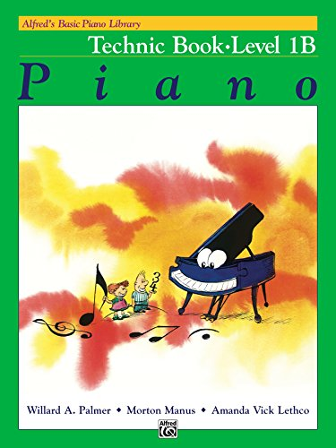 Alfred's Basic Piano Library - Technic 1B: Learn How to Play Piano with This Esteemed Method (English Edition)