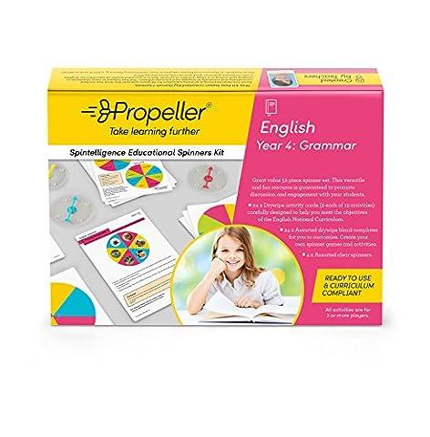 Propeller Bildung spke11Spinner Kit, Jahr 4, Grammatik