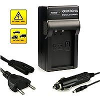 PATONA 3in1 Caricabatteria LP-E17 per Canon EOS 750D | 760D | 8000D | Kiss X8i | Rebel | Rebel T6i | Rebel T6s | T6i | T6s