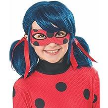 Ladybug - Peluca, infantil, talla única (Rubie's Spain 32929)
