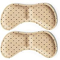 Sechs Paar Half-Size-Pad, gefolgt von dicken Heels Einlegesohlen-Butterfly Beige preisvergleich bei billige-tabletten.eu