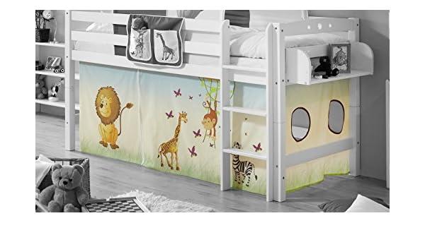Ticaa Etagenbett Vorhang : Ticaa motiv vorhangstoffe für hochbetten: amazon.de: küche & haushalt