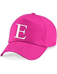 12187e650f7 4sold Children s Embroidery Cotton Summer Sun Hat Children School Kids Hat  Sport Alphabet A-Z Girl Adjustable