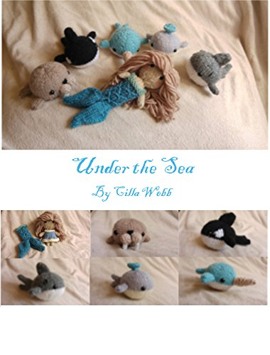 umi Knitting Pattern: An ebook full of knitting patterns to create a whale, narwhal, orca, walrus, shark and mermaid with detachable tail (English Edition) ()