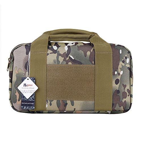 huijukon Tactical Einzel Pistole Fall Range Bag Pistolen 1000D Nylon, CP Campo -