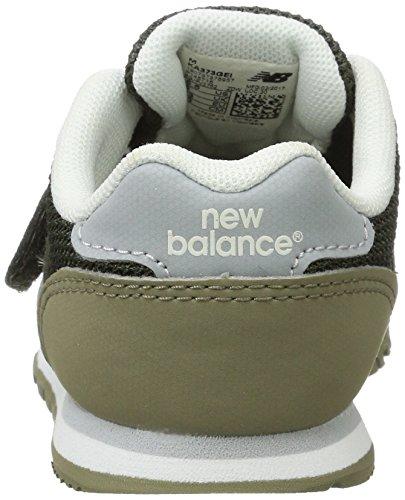 New Balance Unisex-Kinder 373 Velcro Ausbilder Grün (Army Olive/green)