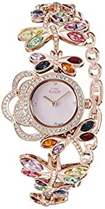 Titan Raga Analog Mother of Pearl Dial Women's Watch- 95011WM01J
