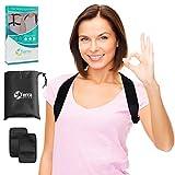 Terra Active Haltungstrainer für Damen und Herren- Geradehalter zur Haltungskorrektur für Eine Bessere Körperhaltung und Unterstützung des Rückens - Größe M-XXL verfügbar
