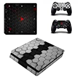Morbuy PS4 Slim Skin Vinyl Autocollant Decal Sticker pour Playstation 4 Slim console...