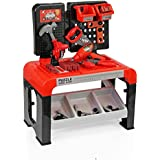 Toyshine DIY Portable Tool Set Toy With Briefcase, 46 Accessories, 3 Storage