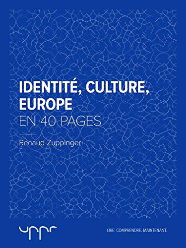 En ligne Identité, culture, Europe  - En 40 pages epub, pdf