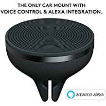 Logitech ZeroTouch Air Vent, Hands-Free Car Mount and Voice Assistant App with Amazon Alexa, Exclusively for Android Phones - Black,989-000197
