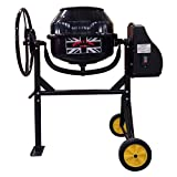 Dirty Pro Tools™ Professional Cement Mixer 80l Concrete Litres Cement Mixer With Stand And Wheels 240V .350W Portable