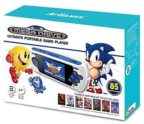 Console Retro Sega Megadrive Portable 85 jeux + Port SD – édition 2017-2018