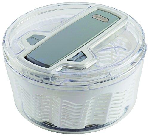 Zyliss E940008 Swift Dry Salat-Schleuder, Kunststoff, weiß, 200 mm, 20 x 20 x 14 cm
